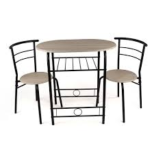 3 Piece Dining Set 3 Piece Dining Set Breakfast Bar Kitchen Table Chairs Christow