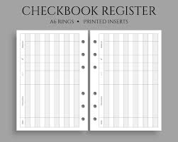 Checkbook Registers To Print Checkbook Register