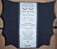 Halloween Wedding Invitations The Spookiest Creepiest Wedding Invitations Youll Ever See