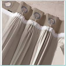 how to make eyelet curtains with blackout lining