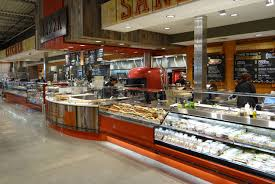 temperature controlled display cases and food merchandisers for supermarket