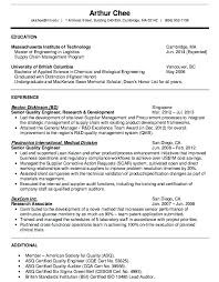 Quality Engineer Resume Sample