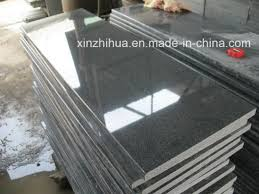 g654 dark grey granite slabs