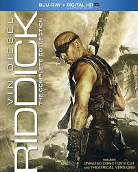Amazon Riddick The Complete Collection Blu ray Vin Diesel.