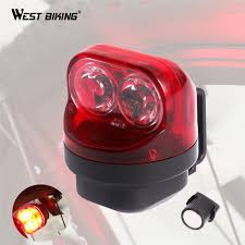 west biking magnetic induction bike taillights cycling waterproof self generating bicycle lamp night warning bike