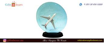 gifts for pilots uae customized handcut vip crystal pe with 3d plane for airlines custom gift bo supplier dubai abu dhabi uae sharjah
