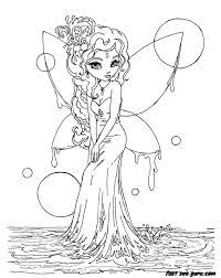 Small Picture Anime Fairy Coloring Pages chuckbuttcom