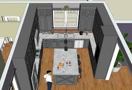 Sketchup Kitchen Design Cool How Do I Cut A Hole For A Sink SketchUp SketchUp Community