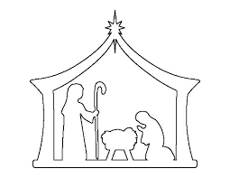 nativity silhouette printable. Pin By Muse Printables On Printable Patterns At PatternUniversecom Pinterest Christmas Nativity And Crafts To Silhouette