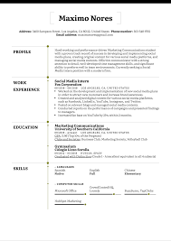 A perfect social media resume will ensure an interview you have been dreaming of. Social Media Intern Resume Example Kickresume