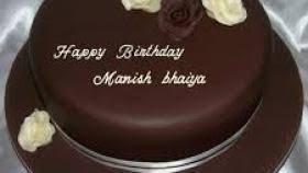Happy Birthday Manish Bhai Cake Images How To