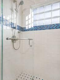 bathroom tile accessories. Inspiring Blue And White Bathroom Accessories : Traditional Recycled Glass Mosaic Line Tile E