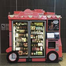Benefit Vending Machine Inspiration Benefit Cosmetics Vending Machine Japanese Vending Machines