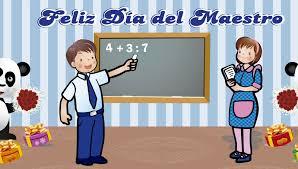 Resultado de imagen para mensaje para el maestro