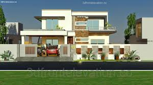 3d Front Elevation Com 1 Kanal House Plan Layout 50 X 90 3d