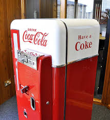 Vintage Coca Cola Vending Machines For Sale Simple Coca Cola Vending Machine Vendo 48 Home Leisure Direct