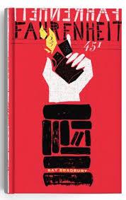 fahrenheit 451 by ray bradbury book cover art book cover design book design