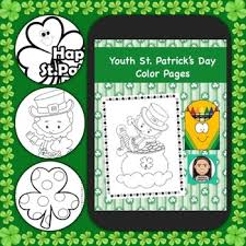 Coloring Pages For Youth St Patricks Day By Positive Counseling