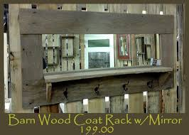Coat Rack With Mirror And Shelf 100 best Mirrors images on Pinterest Wood mirror Barn boards and 86