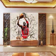 ... basketball star Michael Jordan gym entrance background wallpaper bedroom  large mural wallpaper mural ...
