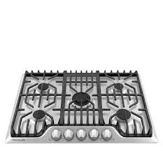 30 gas cooktop. Frigidaire Professional 30\u0027\u0027 Gas Cooktop With Griddle Stainless Steel-FPGC3077RS 30