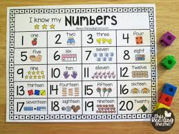 20 Chart Printable Numbers Number Chart Forprintable Number Chart