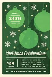 christmas event flyer template christmas event template festival collections