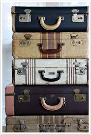 vintage luggage. vintage suitcases more luggage