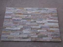 Contemporary Artificial Stacked Stone Panels Wall Panel Stacked - Exterior stone cladding panels