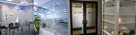 office glass frosting. Frosted \u0026 Etched Window Film Office Glass Frosting