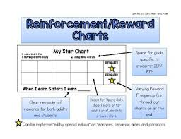Free Reinforcement Reward Star Charts By Easy Peasy
