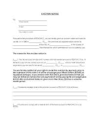 Rent Notice Letter Notice Letter To Tenant Template Metabots Co