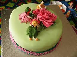 Flower Birthday Cake Designs Classic Style Flower Birthday Cakes