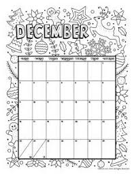Printable Coloring Calendar For 2019 And 2018 Calendar Pages