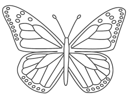Small Picture Butterfly Coloring Page For Kids dana Pinterest Butterfly