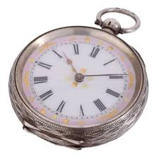 Image result for antique silver pocket watch