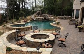 patio with pool and grill. Perfect Pool Patio Ideas Medium Size Grill In Ground Pool Park Grills Pits   In Ground  With And L