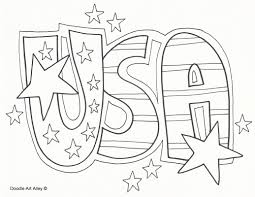 American Celebrating Independence Day Coloring Pages | Coloring ...