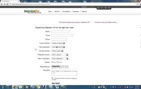 Interviewdot Com Job Portal Submit Resume Cv Resume Database