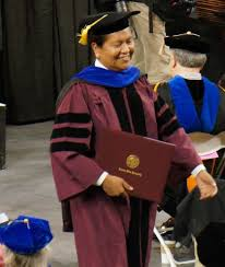 victor begay american n institute mesa community college phd graduate victor begay navajo receiving his diploma from asu 2014