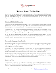 How to write business report template Location Voiture Espagne