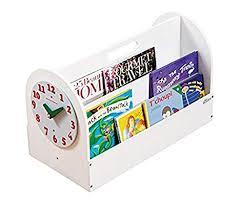 tidy books the original kid s book box in white book storage and book display