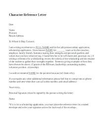 Character Letter To Judge Template Companiesuk Co