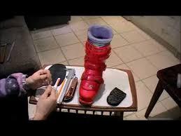 Ремонт каблука <b>горнолыжного ботинка</b> своими руками. - YouTube
