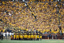 College Football Size Chart The 25 Biggest College Football Stadiums In The Country