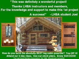 how to build cabins diy