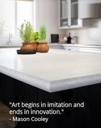 Laminate Surfaces for Kitchen Countertops and Bathroom Vanities