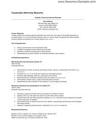 Contracts Attorney Sample Resume