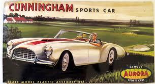 Rare Vintage 1961 AURORA Cunningham Classic Sports Car 1:32 Model Kit |  Model cars kits, Model kit, Plastic model kits