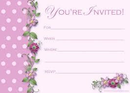 Free Tea Party Invitations Beautiful Party Invitation Card